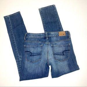 American Eagle AE jeans skinny sz 4 reg